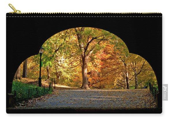 Golden Underpass Carry-all Pouch