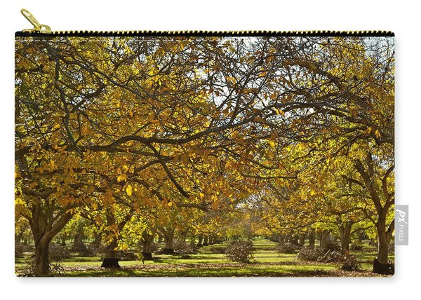 Golden Walnut Orchard Carry-all Pouch