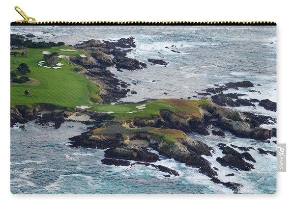 Golf Course On An Island, Pebble Beach Carry-all Pouch
