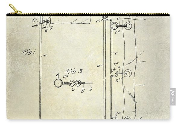 1913 Golf Flag Patent  Carry-all Pouch