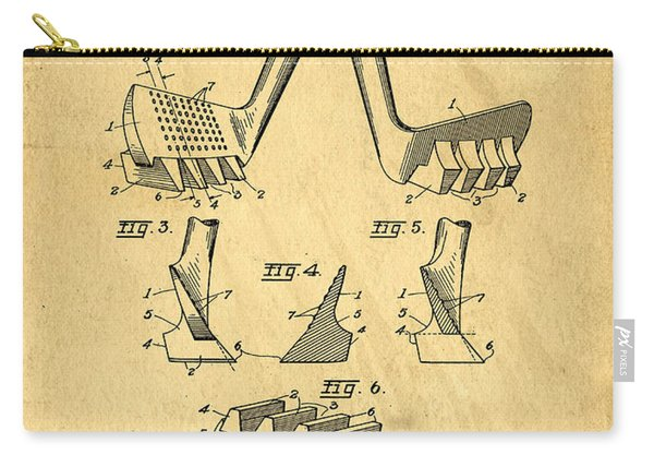 Golf Putter Patent Carry-all Pouch