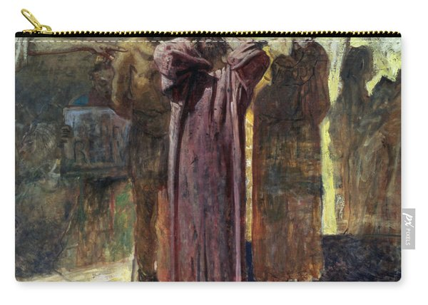 Golgotha, 1892-93 Oil On Canvas Carry-all Pouch