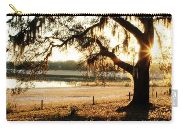 Good Morning Mossy Oak Carry-all Pouch