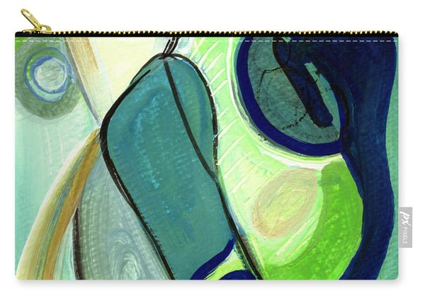 Gorgeous In Green Carry-all Pouch