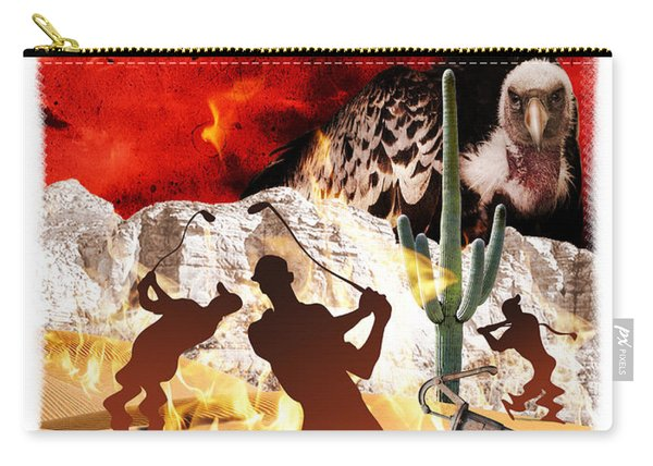 Carry-all Pouch featuring the digital art Got Hydration? by Mark Armstrong