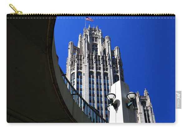 Gothic Tribune Tower Curve Carry-all Pouch