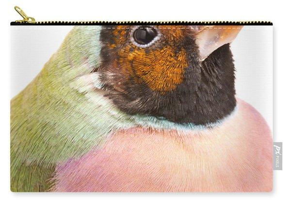 Gouldian Finch Erythrura Gouldiae Carry-all Pouch
