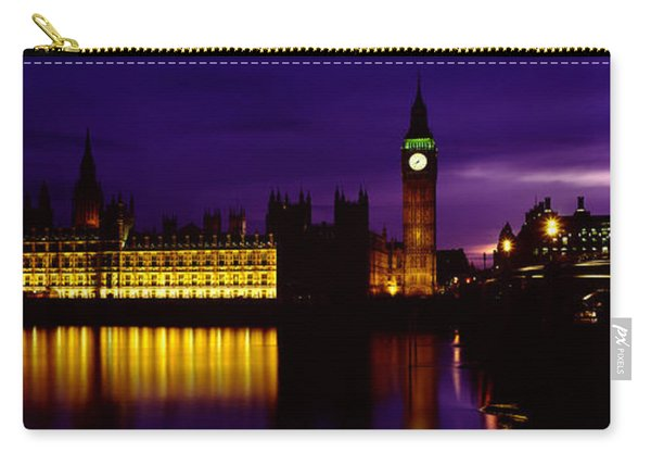 Government Building Lit Up At Night Carry-all Pouch