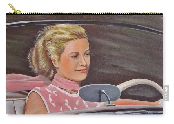 Grace Kelly - To Catch A Thief Carry-all Pouch