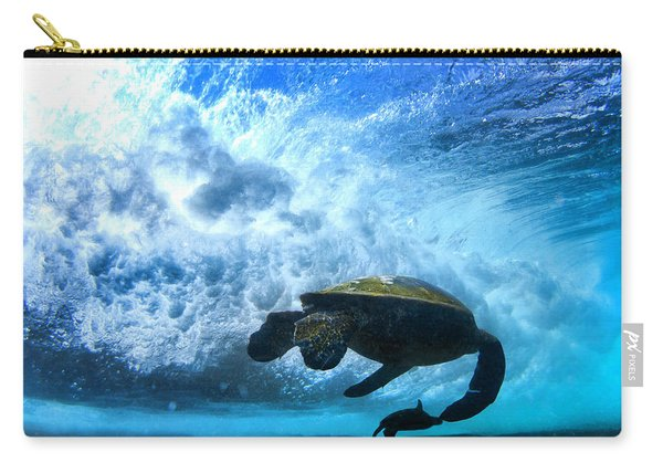 Grace Under The Waves Carry-all Pouch