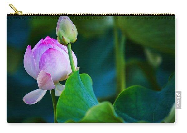 Graceful Lotus. Pamplemousses Botanical Garden. Mauritius Carry-all Pouch