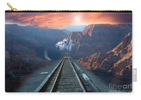 Grand Canyon Collage Carry-all Pouch