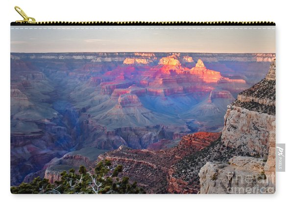 Grand Canyon Pre Twilight Carry-all Pouch