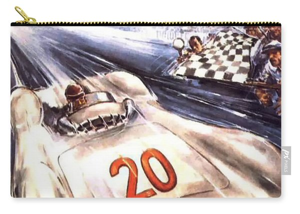 Grand Prix F1 Reims France 1954  Carry-all Pouch