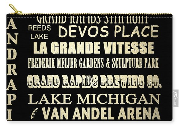 Grand Rapids Michigan Famous Landmarks Carry-all Pouch