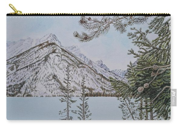Grand Teton View Carry-all Pouch