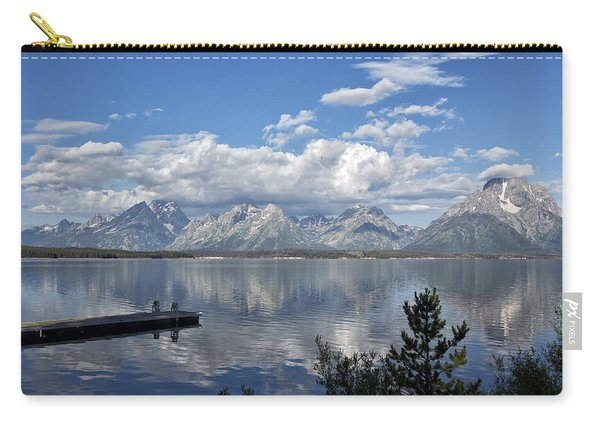 Grand Tetons In The Morning Light Carry-all Pouch