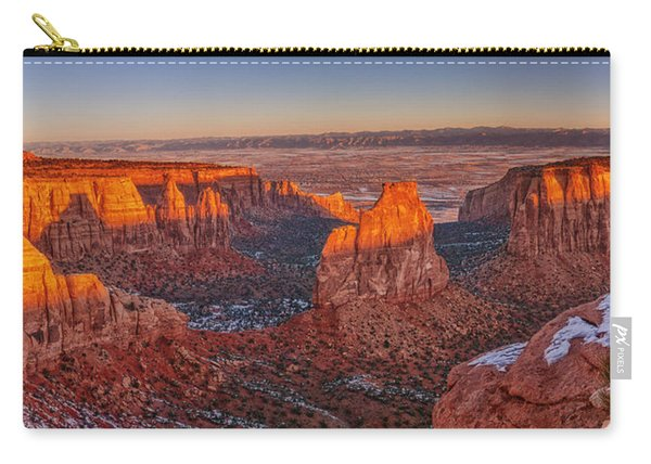 Grand View Sunrise Carry-all Pouch