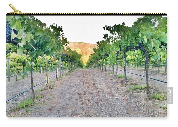 Grape Vines Carry-all Pouch