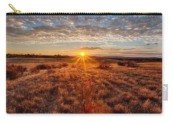 Grassland Sunset Carry-all Pouch