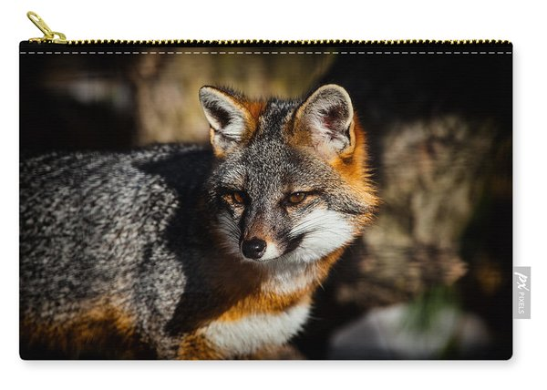 Gray Fox Carry-all Pouch