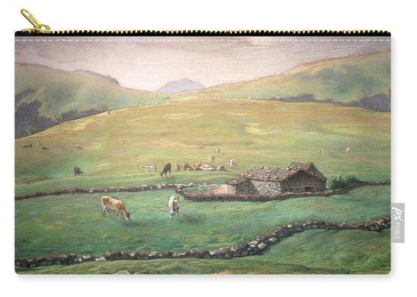Grazing In The Vosges Carry-all Pouch