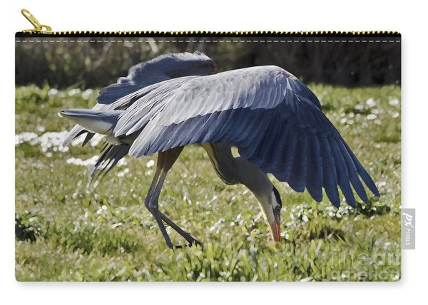 Great Blue Dining Out Carry-all Pouch