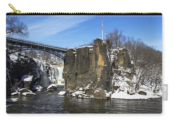 Great Falls In Color Carry-all Pouch