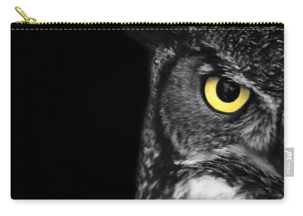 Great Horned Owl Photo Carry-all Pouch