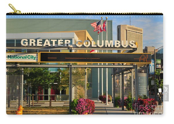 D8l-245 Greater Columbus Convention Center Photo Carry-all Pouch