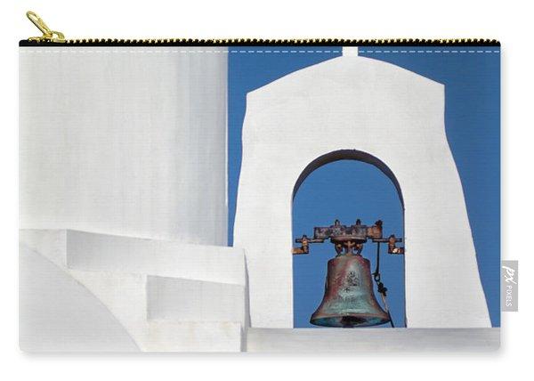 Greek Island Church Carry-all Pouch