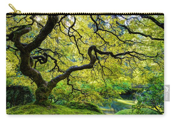 Carry-all Pouch featuring the photograph Green by Dustin  LeFevre