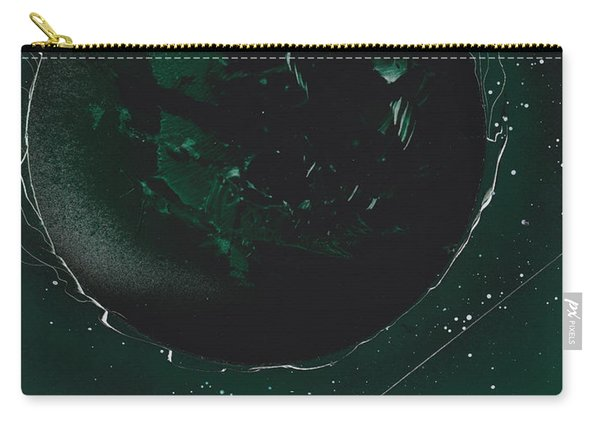 Green Galaxies Carry-all Pouch