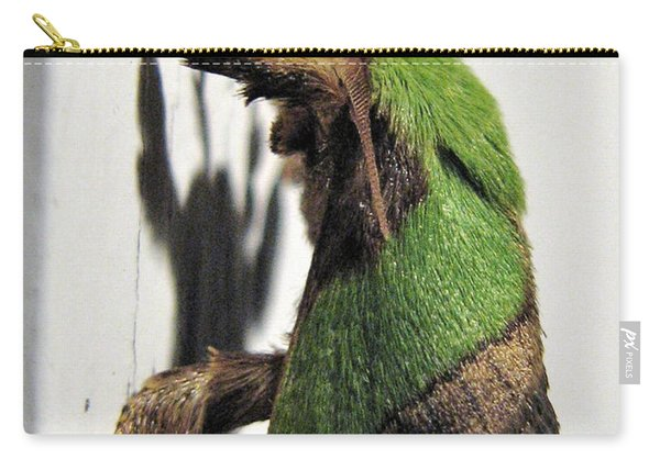 Green Hair Moth Carry-all Pouch