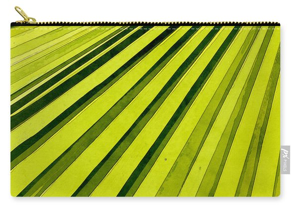 Green Palm Frond Carry-all Pouch