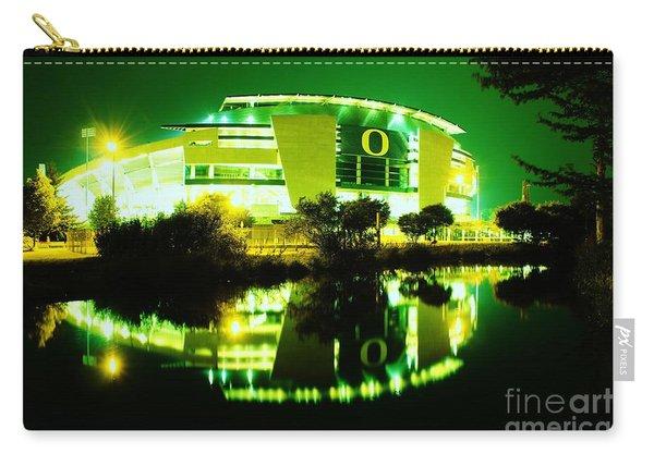 Green Power- Autzen At Night Carry-all Pouch