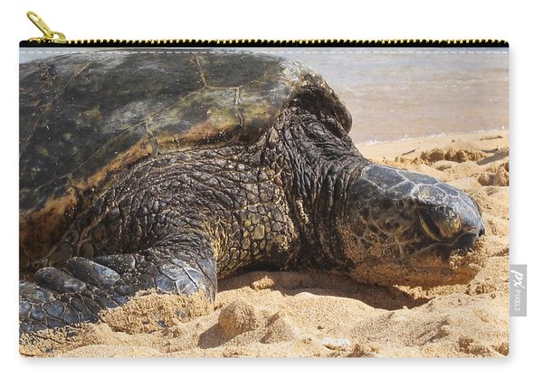 Green Sea Turtle 2 - Kauai Carry-all Pouch
