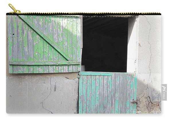 Green Stable Door Carry-all Pouch