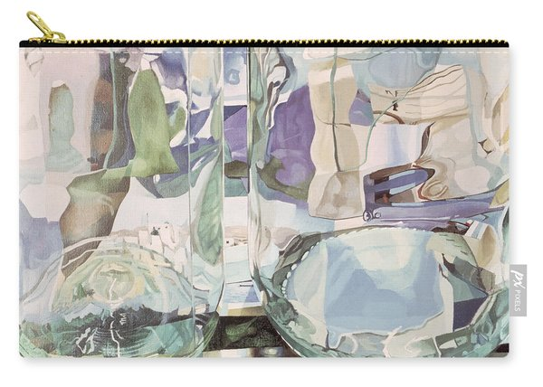 Green Transparency Transparence Verte 1981 Oil On Canvas Carry-all Pouch