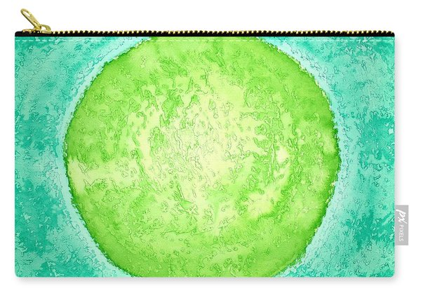 Green World Original Painting Carry-all Pouch