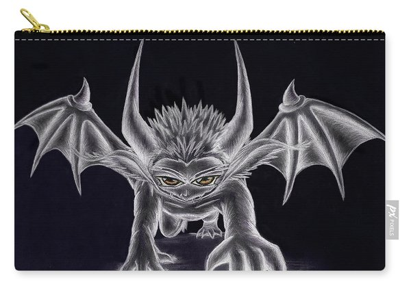 Grevil Silvered Carry-all Pouch