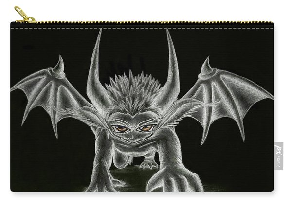Grevil Statue Carry-all Pouch