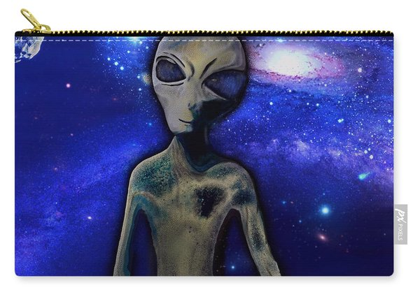 Grey By M.a Carry-all Pouch
