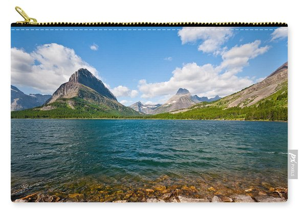 Grinnell Point From Swiftcurrent Lake Carry-all Pouch