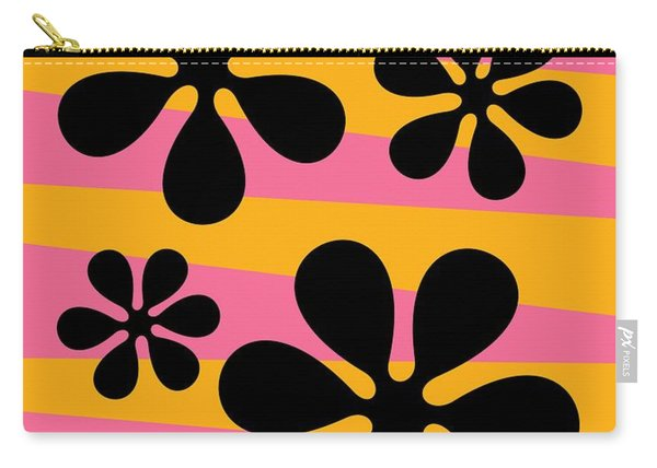 Groovy Flowers I Carry-all Pouch