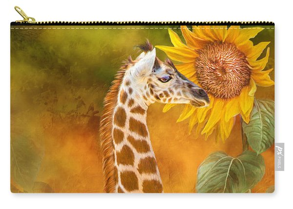 Growing Tall - Giraffe Carry-all Pouch