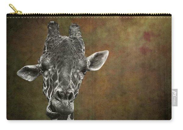 Grungy Giraffe 5654 Brown Carry-all Pouch