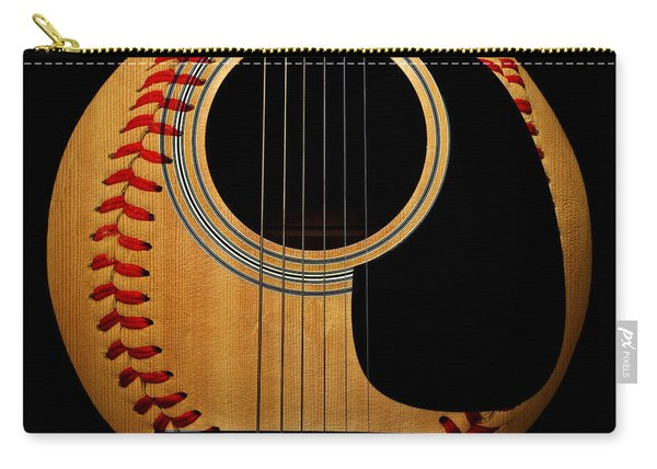 Guitar Baseball Square Carry-all Pouch
