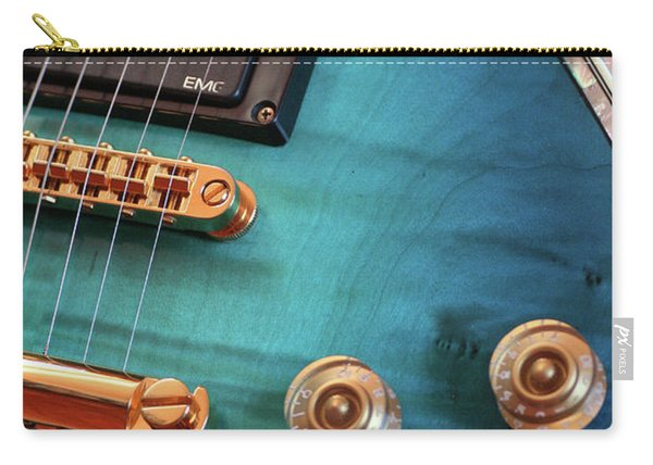 Guitar Blues Carry-all Pouch
