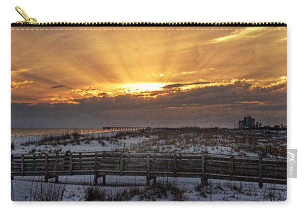 Gulf Shores From Pavilion Carry-all Pouch
